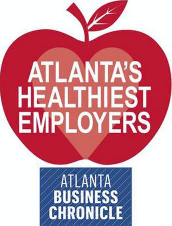 Atlanta's Healthiest Employers award from the Atlanta Business Chronicle