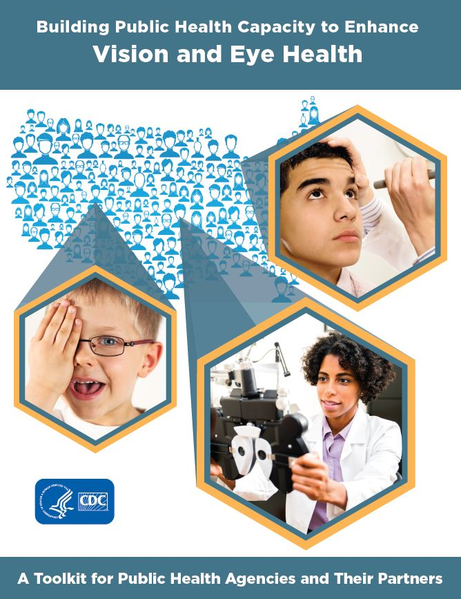 Cover for the toolkit Building Public Health Capacity to Enhance Vision and Eye Health.