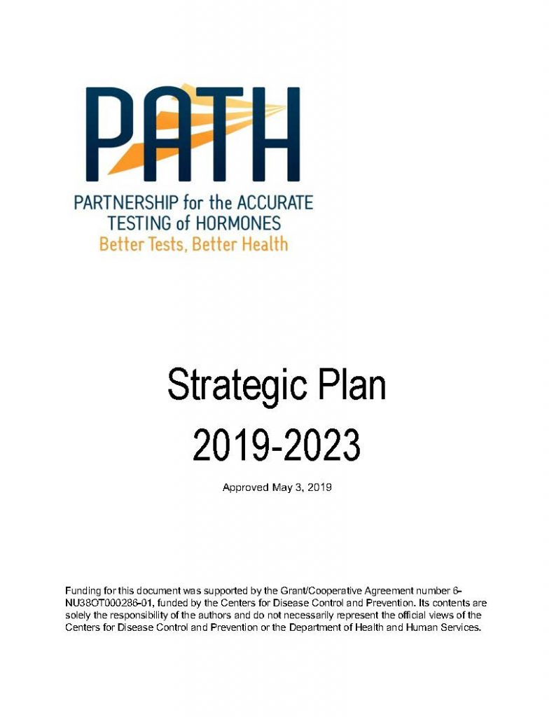A thumbnail of the cover image of the Strategic Plan pdf.