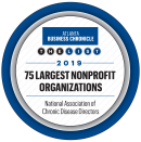 The Atlanta Business Chronicle 2019 list of the 75 Largest Nonprofit Organizations award