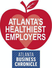 Atlanta's Healthiest Employers award from the Atlanta Business Chronicle